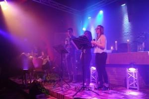 Musikteam:  Jane, Kim, Finja und Ole