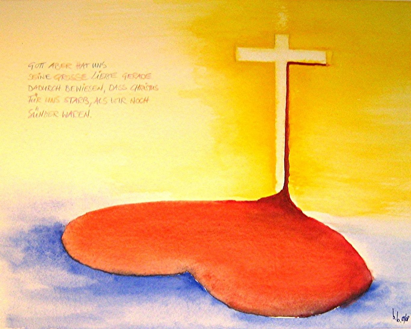 Gottes Liebe (Bernard Bahr, Ostern 2008)