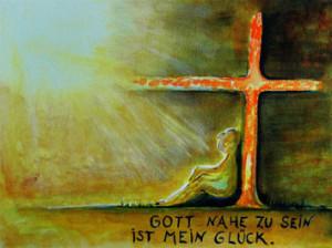 Gott nahe zu sein ist mein Glück (Karin Herberger)