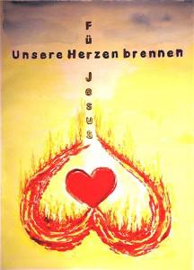 Unsere Herzen brennen für Jesus (Bernard Bahr)