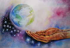 Gott hält die Welt (Petra Hoffmann)